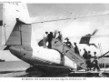 Boarding a Pan Am Martin M-130, China Clipper, 1937
