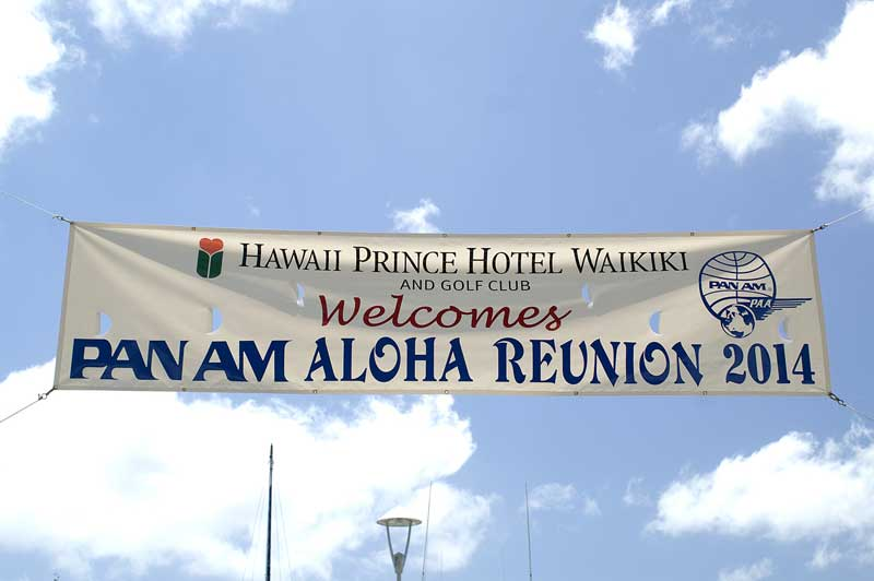 Pan Am Aloha Reunion, Hawaii, 2014, photo by Robert Genna