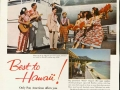 Pan Am: Best To Hawaii, Ad from the 1950s