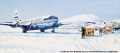 October 15, 1957  Boeing 377-Stratocruiser Clipper America was the first commercial airliner to serve Operation Deep Freeze. Here it arrives at McMurdo Sound, Antarctica.