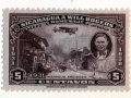 Nicaragua 5 cent stamp, 1931 with Will Rogers