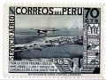 Pan Am on a Peruvian 70 cent stamp