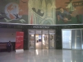 Departure Gate and James Brooks mural, Marine Air Terminal, LaGuardia, MAT, detail
