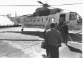 Boarding a helicopter atop Pan Am Building
