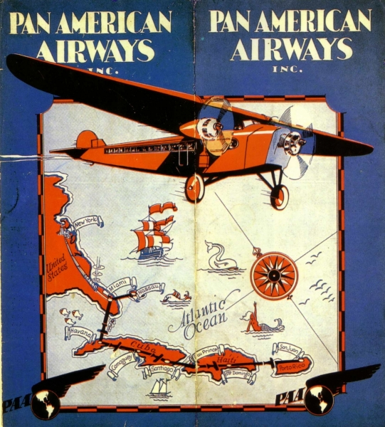 Pan Am, Havana, Brochure, 1929