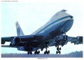 Pan Am, Boeing 747 taking off