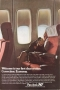 Pan Am, ad, 1970, Economy seating, Boeing 747