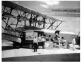 Sikorsky S-40 being loaded with Air Exprss cargo at Dinner Key, Pan American World Airways