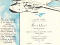 Pan Am's B-314 Menu, 1940s, (Rod Sullivan Collection)