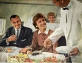 The Jet Age: Illustration of a Pan Am 707 inflight meal