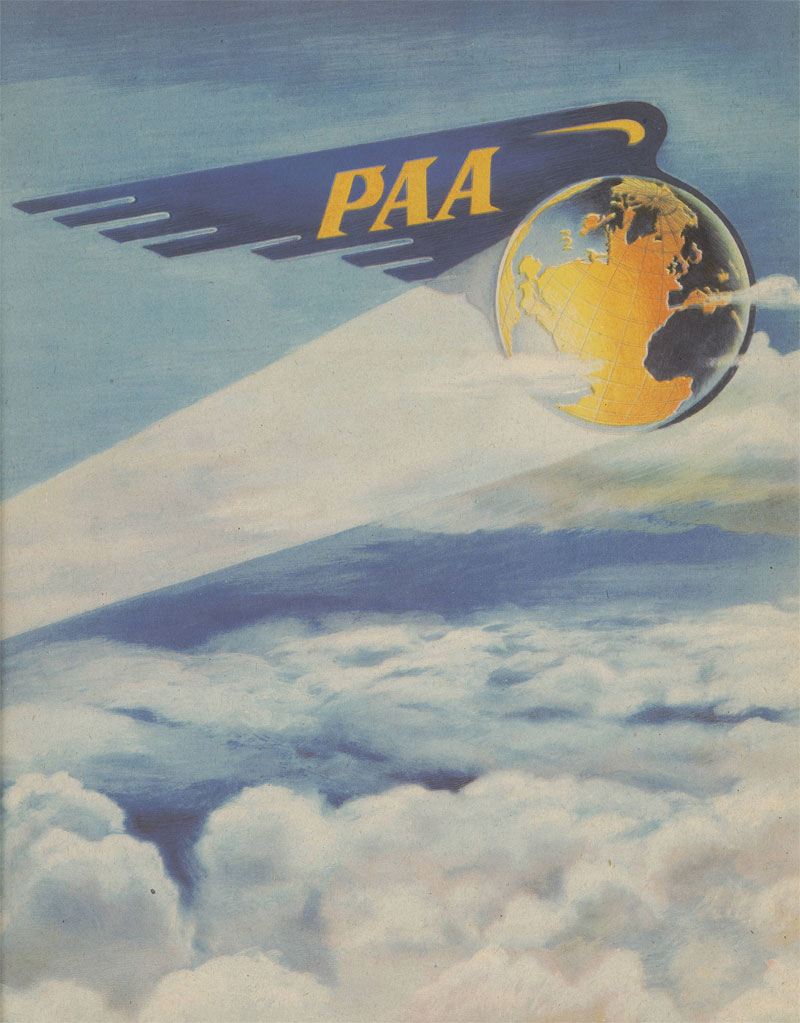 Page from Pan American Airways 1944 Annual Report (University of Miami Special Collections)
