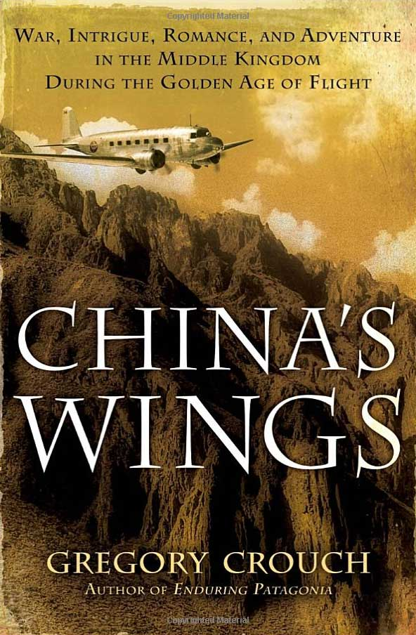 China's Wings cover, Gregory Crouch