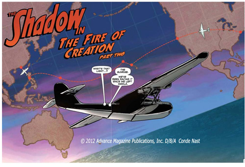 "Pan Am China Clipper in ""The Shadow in the Fire of Creation"""