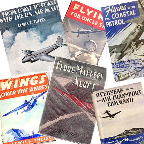 Collage of Lewis Theiss Book Covers Ginger Hale Series rsz