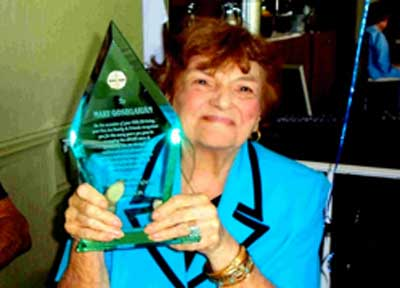 Pan Am AWARE award Mary Goshgarian
