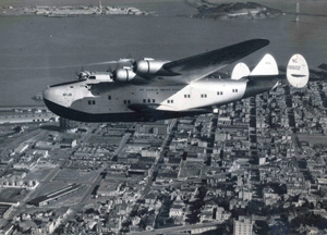 2 Pan Am California Clipper over San Francisco 1939 blogpic