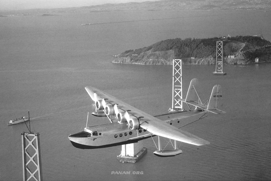 1 Pan American Clipper I Clyde Sunderland photographer Pan Am Historical Foundation Collection