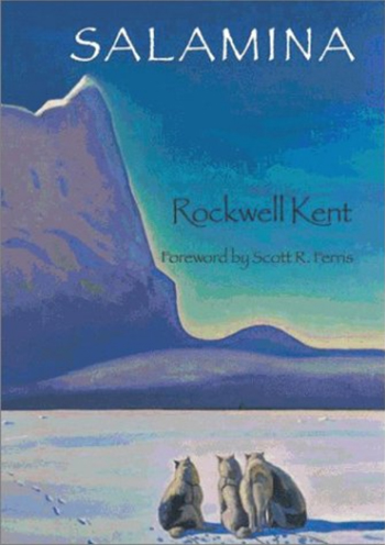 Cover of Rockwell Kent book Salamina on Kents 2nd Trip to Greenland RSZ