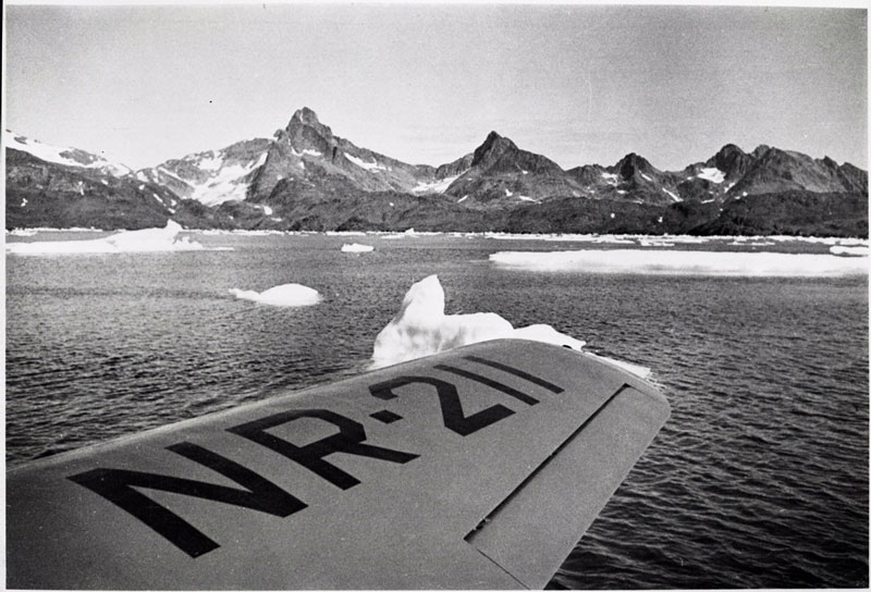 Photo at Greenland by Ann Morrow Lindbergh Pan Am
