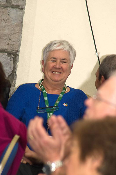 Foynes Museums Margaret OShaunessy at Pan Am Reunion Photo copyright Robert Genna