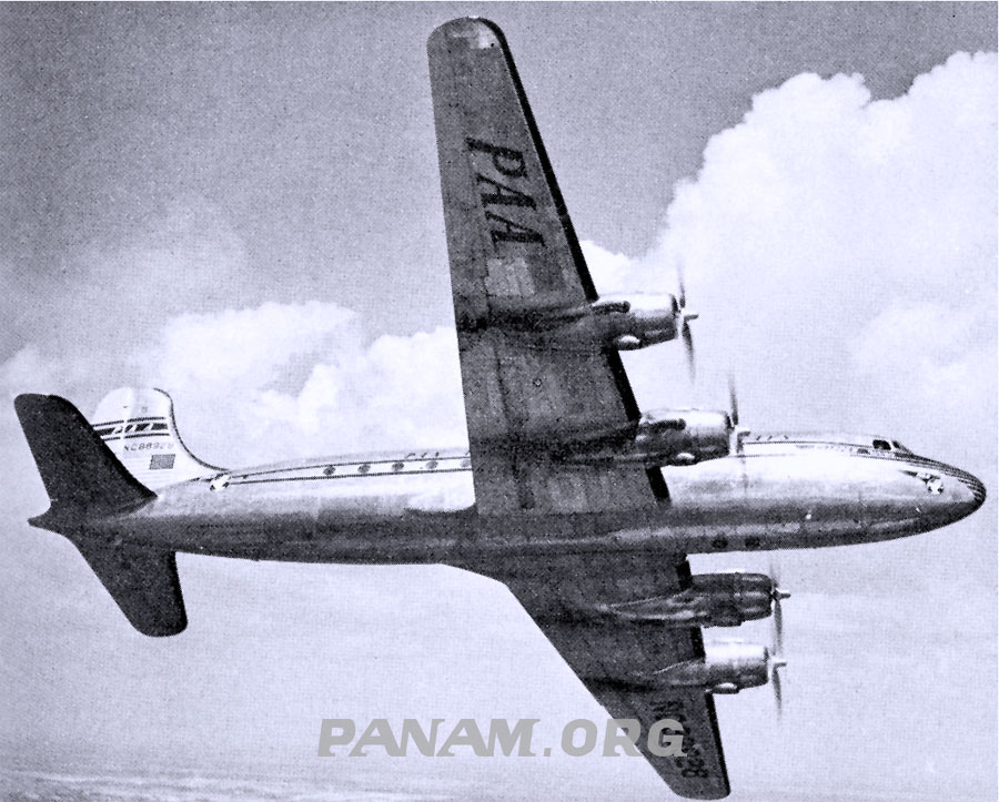 5. Illustration of a Pan Am Douglas DC 4