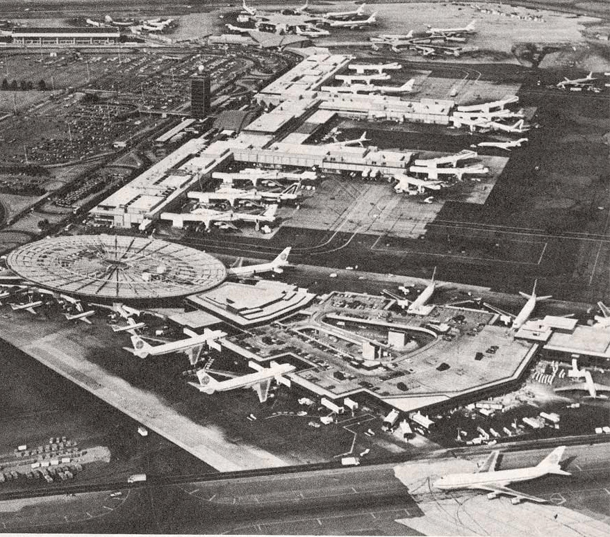 Worldport Aerial Jan 1974