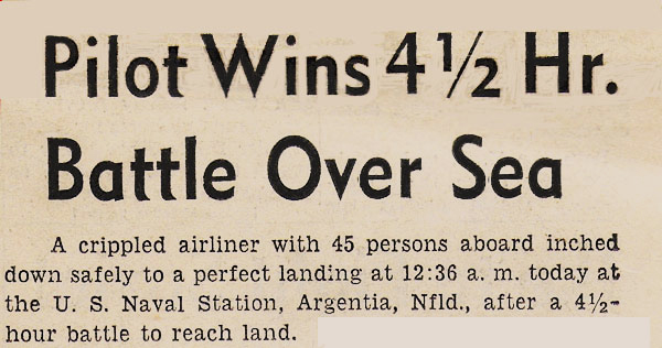 Headline pilot wins battle