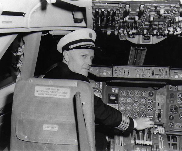 Postlewaite at controls 1964