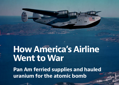 How Americas Airline Went to War, Pan Am Boeing 314 flying boat