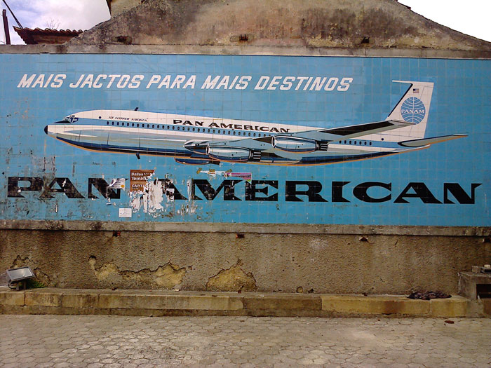 Pan Am tile billboard, Portugal