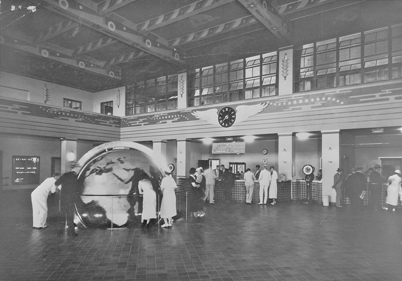 HABS No. FL 363 9 Pan Am Globe Dinner Key Terminal