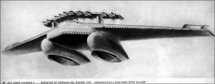 Norman Bel Geddes Airliner 4