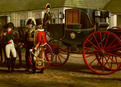 Andrezj Novak Zemplinski Napoleons carriage blogpic