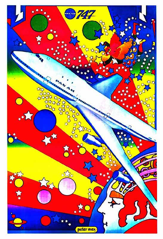 Pan Am B747 Peter Max 1970s rsz