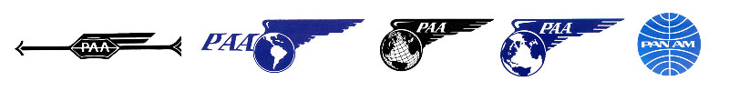 Pan Am logos through history