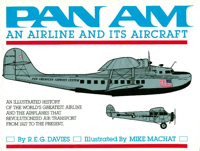 REG Davies Pan Am Airline and Aircraft cover rsz