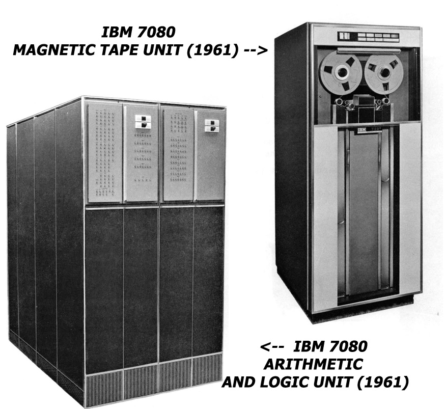 2a IBM 7080 Units Physical Planning 1961
