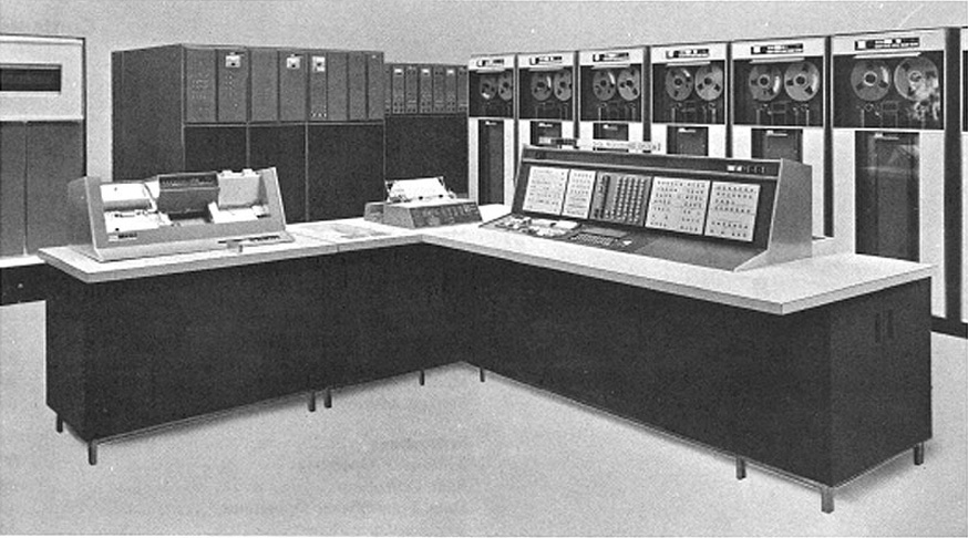 IBM 7080 Data Processing System Setup 1964