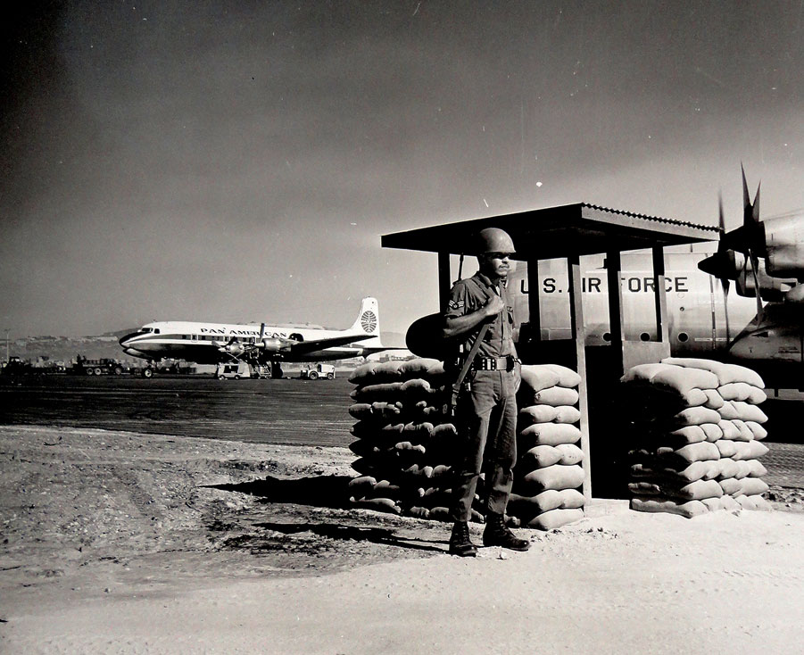 4 Pan Am DC6 Guardpost at Cam Ranh UM Final