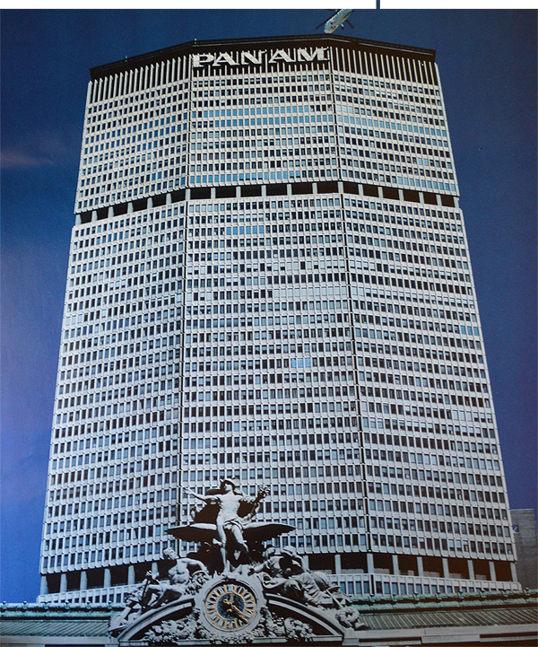 Pan Am Buidling New York City calendar color photo and Grand Central