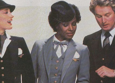 Pan Am African American Flight Attendant