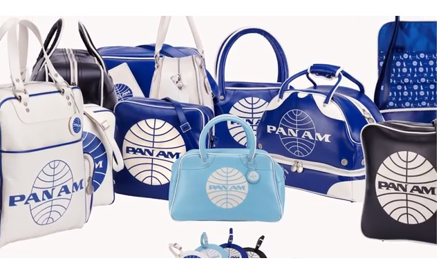 A collection of Pan Am bag designs, Pan Am Brands, panam.com