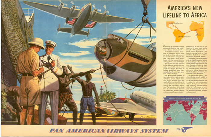 2 Pan Am Africa Lifeline Ad