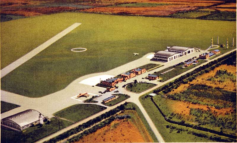 Brownsville PAA Airport Terminal 1930