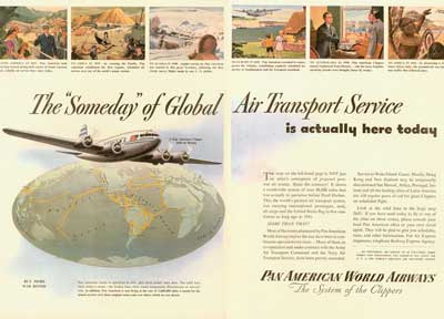 Pan Am Ad Someday Air Transport Service