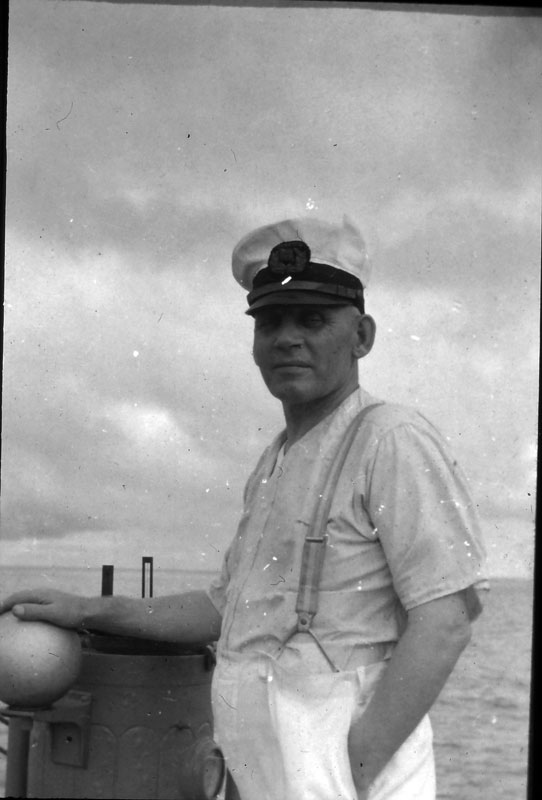 1 Capt Borklund of SS North Haven