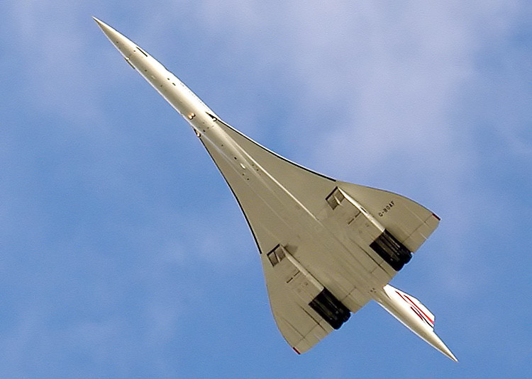 Concorde-in-flight