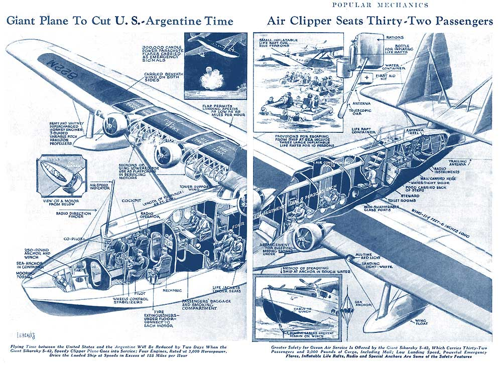 Popular Mechanics 1934 Sikorsky S 42 rsz FB
