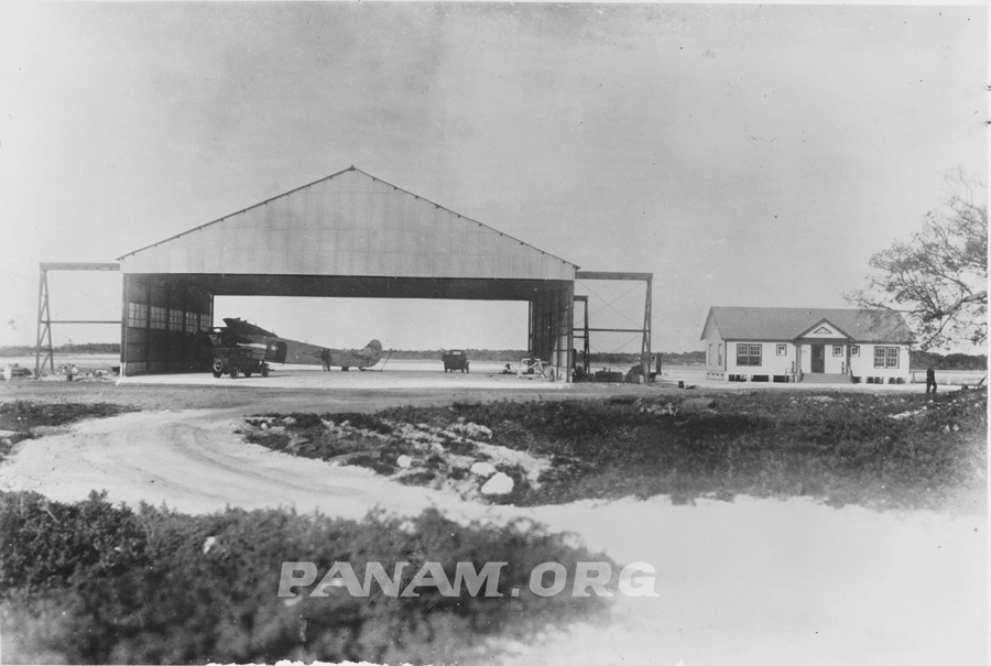 Pan Am Fokker FVII TriMotor General Machado in Hanger at Meacham Field Key West, FL