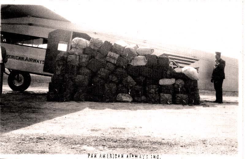 Airmail load for F10 c. 1929